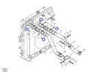 Anel de Vedação da Tubulação do Radiador de Ar - Volvo CE - 1542780 - Unitário