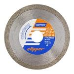 Disco diamantado para corte - contínuo Clipper 110x7x20mm - Norton - 70184624369 - Unitário