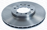 Disco de Freio Ventilado sem Cubo - Hipper Freios - HF 200C - Par