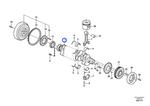 Eixo de Manivelas - Volvo CE - 21351400 - Unitário