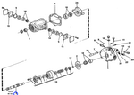 Eixo do Sistema Hidráulico - Volvo CE - 6213250 - Unitário