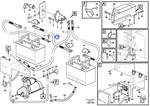 Cabo da Bateria - Volvo CE - 11171297 - Unitário