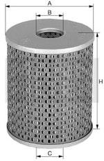 Filtro de Óleo Lubrificante - Mann-Filter - H1034/3 - Unitário - Mann-Filter - H1034/3 - Unitário