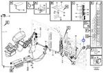Porca do Chicote de Cabos - Volvo CE - 11119547 - Unitário