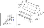 Parafuso do Suporte do Dente - Volvo CE - 13806293 - Unitário