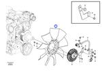 Ventilador - Volvo CE - 14568113 - Unitário