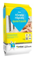 Argamassa Nivela Rápido Cinza 20kg - Quartzolit - 0288.00001.0020PLH - Unitário