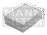 Filtro do Ar Condicionado - Mann-Filter - CU 1722 - Unitário