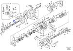 Eixo da Bomba do Sistema Hidráulico - Volvo CE - 14511977 - Unitário