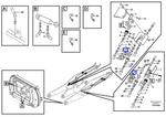Conector do Sistema Hidráulico - Volvo CE - 11713598 - Unitário