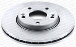 Disco de Freio Ventilado sem Cubo - Hipper Freios - HF 325D - Par