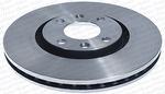 Disco de Freio Ventilado sem Cubo - Hipper Freios - HF 752 - Par