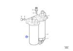 Filtro de Combustível - Volvo CE - 20976003 - Unitário