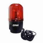 Sinalizador Giroled de Advertência Bivolt Alto Brilho Vermelho - DNI - DNI 4111 - Unitário