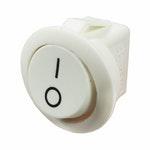 Chave Comutadora Universal On-Off Redonda Branca - 80W - DNI - DNI 2196 - Unitário