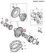 Rolamento Lateral do Diferencial E Câmbio - Original Chevrolet - 11052685 - Unitário