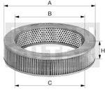 Filtro de Ar - Mann-Filter - C2639 - Unitário