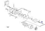Porca do Controle de Freio de Estacionamento - Volvo CE - 11709031 - Unitário