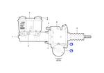 Kit de Reparação do Cilindro Mestre E Amplificador de Força - Volvo CE - 76287 - Unitário
