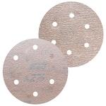 Disco de lixa seco A275 grão 150 152mm c/ 6 furos - Norton - 66261086333 - Unitário