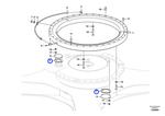 Junta do Sistema de Giro - Volvo CE - 14531014 - Unitário