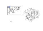Lente da Iluminação Frontal - Volvo CE - 11988202 - Unitário