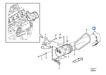 Protetor da Correia do Ar Condicionado - Volvo CE - 11411791 - Unitário