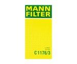 Filtro de Ar - Mann-Filter - C1176/3 - Unitário