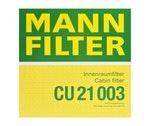Filtro do Ar Condicionado - Mann-Filter - CU 21 003 - Unitário