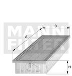 Elemento Filtrante do Ar - Purolator - A1002 - Unitário