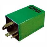 Relé da Injeção Eletrônica c/ Diodo Série e Resistor 5 Terminais e 1 Pequeno Vw/Audi 377911261A-12V - DNI - DNI 0361 - Unitário