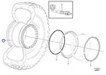 Roda - Volvo CE - 17388474 - Unitário