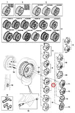 Calota do Centro de Roda - Original Chevrolet - 93223975 - Unitário