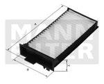 Filtro do Ar Condicionado PAJERO TR4 2009 - Mann-Filter - CU 2106-2 - Unitário