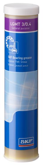 Graxa industrial e automotiva de uso geral NLGI3 - SKF - LGMT 3/0.4 - Unitário