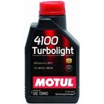 Óleo para Motor Motul 4100 Turbolight - 10W40 - Motul - 4100 TURBOLIGHT - 10W40 - Unitário