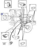 Conector - Volvo CE - 1307053 - Unitário