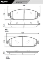 Pastilha de freio GRAND CHEROKEE - Fras-le - PD/807 - Par