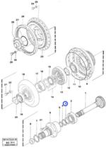 Anel - Volvo CE - 11997553 - Unitário