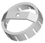 Chave de Garras para Porca Plástica do Tanque de Combustível -Raven - Raven - 117076 - Unitário