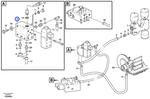 Bloco de Acoplamento - Volvo CE - 11173805 - Unitário