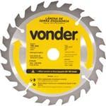 Disco de Serra Circular 180 x 20mm para Madeira 24 Dentes - Vonder - 46.50.180.240 - Unitário