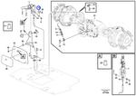 Ancoragem do Freio de Estacionamento - Volvo CE - 15046790 - Unitário