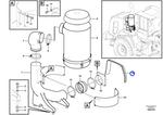 Friso de Vedação - Volvo CE - 15095391 - Unitário