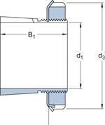 Bucha de fixação - SKF - H 3124 - Unitário