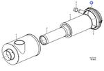 Niple do Filtro de Ar - Volvo CE - 11708377 - Unitário