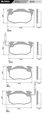 Pastilha de freio - Fras-le - PD/322-A - Jogo