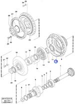 Anel O - Volvo CE - 11997551 - Unitário