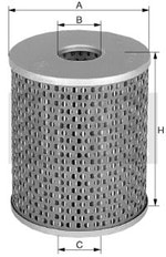 Elem. Filtrante do Óleo Hidráulico - Mann-Filter - H1497/1 - Unitário