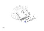 Suporte do Dente da Caçamba - Volvo CE - 14619306 - Unitário